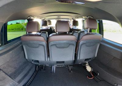 Coffre de la Mercedes Class-V